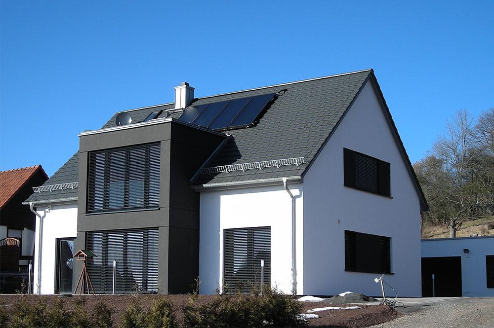Neubau Einfamilienhaus In Hanglage Dipl Ing Architekt Tobias Winkler