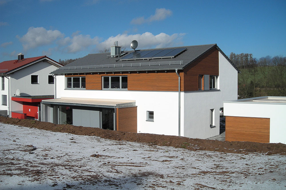 Neubau Einfamilienhaus mit Doppelgarage - Dipl.-Ing. Architekt ...