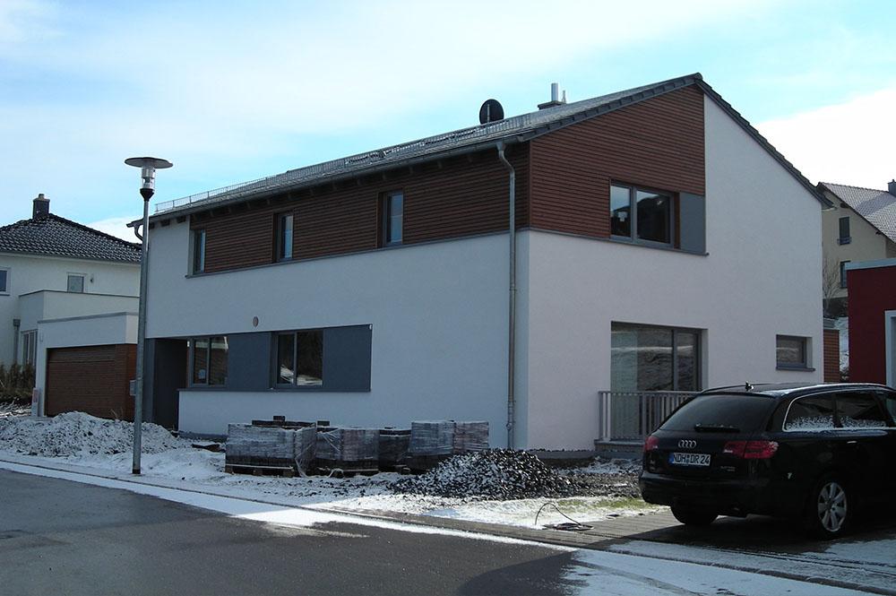 Neubau Einfamilienhaus Mit Doppelgarage Dipl Ing